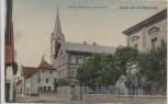 AK Gruß aus Schifferstadt Kirche Schulhaus 1919