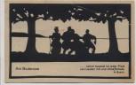 Künstler-AK Scherenschnitt von Marg. Brauer Am Bodensee W. Busch 1923