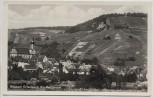 AK Foto Weinort Erlenbach Kr. Heilbronn Ortsansicht mit Kirche 1940