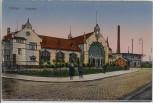 AK Witten Bahnhof mit Menschen 1920
