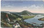 AK Regensburg Donaupartie mit Walhalla Inflationsmarken 1922