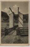 AK Burg Wildenstein Zugbrücke und Burgeingang Oberes Donautal Leibertingen 1920