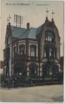 AK Gruß aus Schifferstadt Raiffeisenkasse mit Menschen 1919 RAR