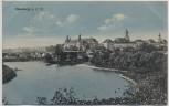 AK Neuburg an der Donau Ortsansicht 1913
