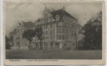 AK Regensburg Pension Idyll gegenüber dem Bahnhof 1913 RAR