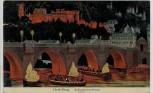 AK Heidelberg Schlossbeleuchtung 1910
