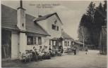 AK Gruss vom Jagdhaus Oberdill Post Grünwald mit Gästen 1912 RAR
