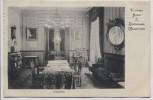 AK Wiesbaden Victoria Hotel Badehaus Lesesalon Innenansicht 1911