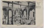AK Wiesbaden Victoria Hotel Badehaus Restaurant Innenansicht 1911