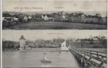AK Gruß aus Buch am Ammersee Totalansicht Ansicht vom See aus 1911 RAR