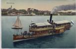 AK Starnberg Salondampfer Luitpold am Starnberger See 1910