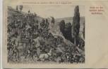 Künstler-AK Saarbrücken Gruss von den Spicherer Höhen 1870 1911