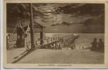 Künstler-AK Ostseebad Graal-Müritz Landungsbrücke 1911