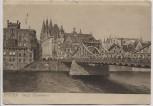 AK Bremen Grosse Weserbrücke 1912