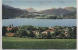 AK Tegernsee von Osten Ortsansicht 1911