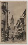 AK Stuttgart Blick auf Rathaus mit Münzgasse Inflation 1922
