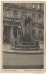 AK Aachen Kaiserbad mit Baakauf Denkmal 1929