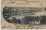 AK Flecken Zechlin Ortsansicht b. Rheinsberg 1900