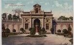 AK Augsburg Kriegerdenkmal im Stadtgarten 1911