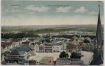AK Wismar Blick vom Marienkirchturm Ortsansicht 1911