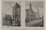 VERKAUFT !!!   AK Ochtrup in Westfalen Fabrik Gebr. Laurenz und Postamt 1910 RAR