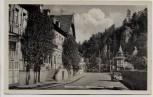 AK Rübeland im Harz Blankenburger Straße b. Oberharz am Brocken 1950