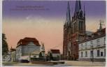 AK Solingen Mühlenplätzchen Kriegerdenkmal Kath. Kirche Deutsche Bank 1920