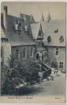 AK Schloss Burg an der Wupper Kapelle b. Solingen 1911