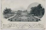 AK Leipzig Palmengarten Eingang an der Frankfurter Strasse 1900
