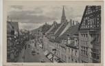 AK Freiburg im Breisgau Kaiserstrasse mit Strassenbahn 1910
