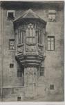 AK Nürnberg Erker am Sebalder Pfarrhof 1909