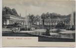AK Bayreuth Eremitage Oberes Bassin 1910