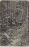 AK Freudenstadt Teuchelweg mit Hütte 1905