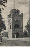 AK Gruss aus Stendal Tangermünder Tor mit Menschen und Hund 1913