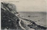 AK Arkona auf Rügen Strand mit Vorgebirge Boote b. Putgarten Vitt 1907