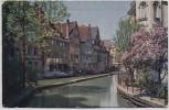 AK Ulm an der Donau Partie an der Blau 1920