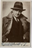 AK Foto Schauspieler Komponist Ernst Arnold mit Hut und Autogramm 1930