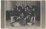 VERKAUFT !!!   AK Wollstein Wolsztyn Wartheland Polen Gruppenbild Männer Frauen in Uniform Lehrer 1908 RAR