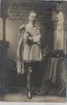 AK Foto Adolf von Sonnenthal Schauspieler mit Mantel und Degen 1903