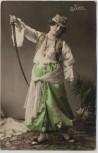AK Foto Judith Frau mit Säbel und Tracht 1908