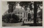 AK Foto Wuppertal Elberfeld Schwebebahnhof Döppersberg mit Menschen 1935