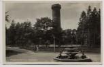 AK Foto Wuppertal Barmen Toelleturm mit Brunnen 1935