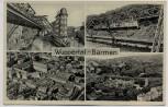 AK Mehrbild Wuppertal Barmen Luftbild Schwebebahn 1935
