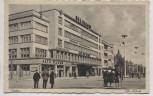 AK Foto Stettin Ufa-Palast mit Menschen Szczecin Pommern Polen 1940