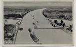 AK Der Rhein bei Maxau Maximiliansau vom Flugzeug aus Luftbild Brücke Fabrik 1940 RAR