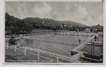 VERKAUFT !!!   AK Foto Seeheim Jugenheim an der Bergstraße Schwimmbad 1940