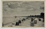 AK Ostseebad Boltenhagen Strand Strandkörbe Fahnen 1935