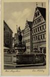 AK Foto Bad Mergentheim Der Milchling Brunnen 1940