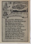 Künstler-AK Gruß aus Bad Mergentheim Karikatur Gedicht Fr. Walz 1940