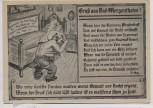 Künstler-AK Gruß aus Bad Mergentheim Karikatur Gedicht Fr. Walz 2 1940